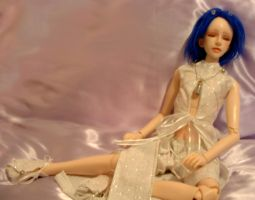 Bjd Outfit: Cloud Mage by silverbeam