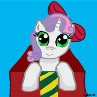 Sweetie Belle in A Box by CobaltPhusion