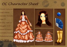 Katherine P .:Character Sheet: by Tennessee11741