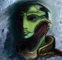Thane Krios by Bast-Fury
