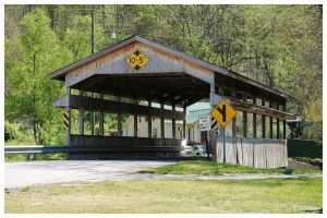 A Covered Bridge In Tennessee by TheMan268