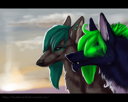 Green and Venomous by HeatherWolf