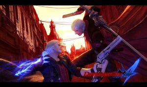 DMC4 Nero Street Fight Dante by leodheme