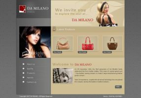 Leather goods site by WebRules by ArtistUnion