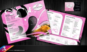 Catering Menu Design Set by AnotherBcreation