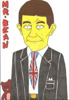 Mr Bean The Simpsons version by tatjuska
