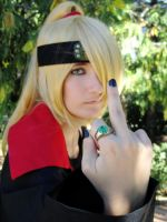 Deidara - Fuck you by ALIS-KAI