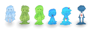 My Slimes by owodoomkitty