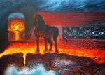The Steed of the Coming Apocalypse by Wideen