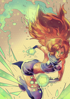 Starfire Digivolved by daremaker