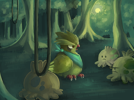 Columbidae- May Task 1. PMD-E by Meinkenny