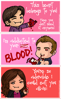 Vampire Diaries Valentines by iluvbsbkevin