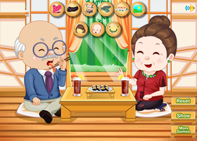Grandparents Sushi Date by willbeyou