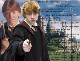 Ron Weasley Wallpaper by Faesissa