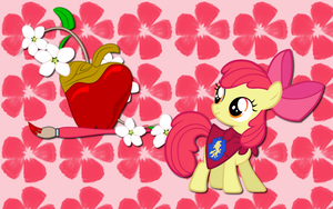 Apple Bloom wallpaper 3 by AliceHumanSacrifice0