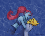 Femslash February - Monster Girlfriends by ErinPtah