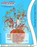 aWear Fashion Show Poster 1 by RinnG