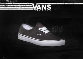 Vans Poster/Ad by Ethiqal