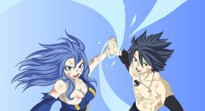 Gray y Juvia - Fairy Tail 322 by Andrea2ce