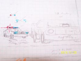 Auto sketches US V8 INTERCEPTR by coonk9