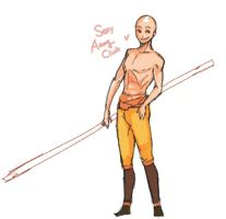 sexy aang * by psycheJ93