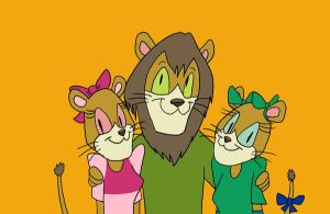 Walnuts and his Lionesses by MysteryFanBoy718