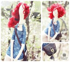 Red Haired Girl #2 by dual-personality