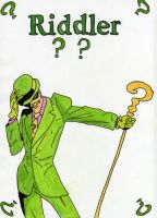The Riddler by JokerfiedCrane