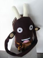 Giggling Goat Bag by creaturekebab