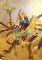 Azir - the Emperor of the Sands by BeautifulSurgery