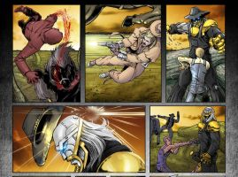 Last Ride for Horsemen preview page by GavinMichelli
