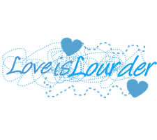 Texto Png Love is Lourder by Abraham-Tutoriales