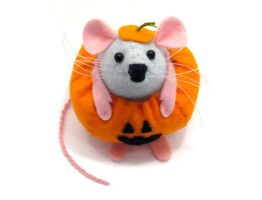 Gourdon the Pumpkin Mouse by The-House-of-Mouse