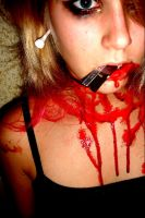 Bloody 04 by HidieXStock