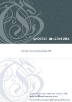Gabriel Macheroux Bus card I by ScarlettArcher