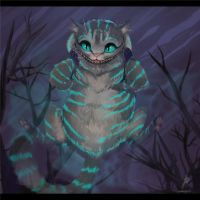 Cheshire Cat by vagab0nda