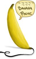 BANANA PHONE by KatrinaBirch