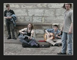 Street music in Riga by nenne