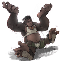Gorilla TF by DrawingKuma
