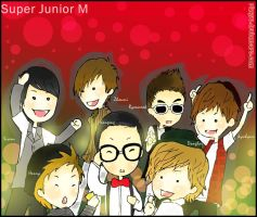 Super Junior M Super girl by Rizkyu