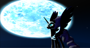 Nightmare Moon by Valforwing