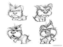 Doggy Character Sheet by DarionLeigh