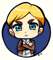SNK :Erwin Smith: by The-PuddingKing