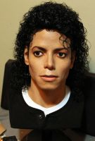 Michael Jackson Bad lifesize bust 1/1 new pic2 by godaiking