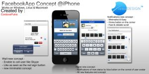 FacebookApp for iPhone and Windows ( + Other OS ) by cordova96
