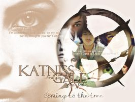 katniss and Gale by Miss-deviantE