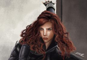 Scarlett Johannsson:Black Widow by shiprock