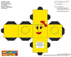 VG 5: Ms Pac-Man Cubee by TheFlyingDachshund