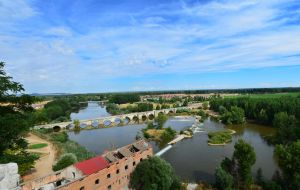 Pisuerga river panorama by Dragon181