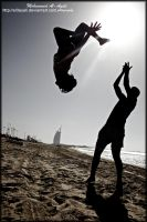 up in the AIR.. by al3ayali